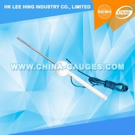 4mm Diameter, 100mm Long Test Pin with Cable