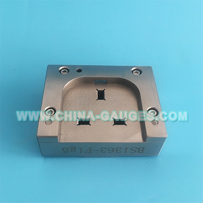 BS 1363-3 Figure 5 Gauge for Adaptor Pins